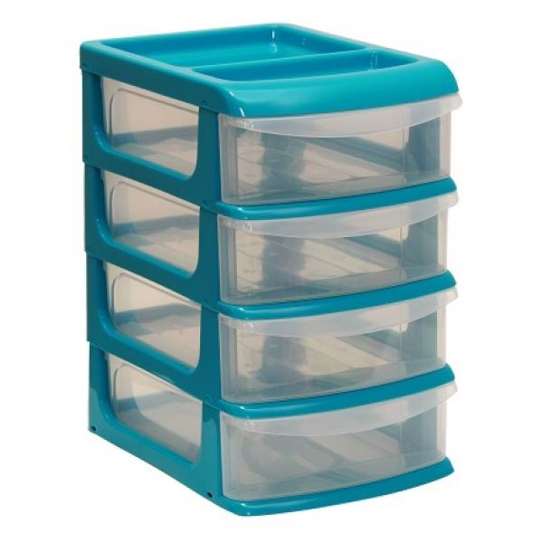 Бокс для хранения мелочей с выдвижными ящиками